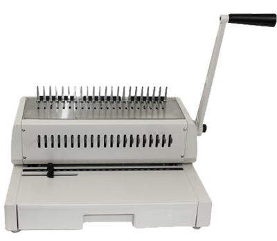 210PB Manual punch and comb binding machine with 21 dies