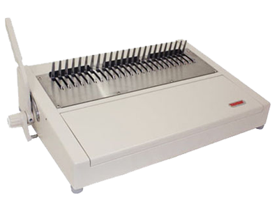 240HB manual binding machine for binding combs with 24 dies.