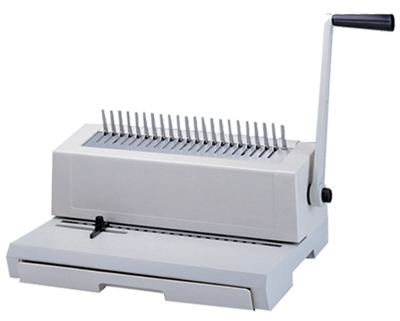 190PB Manual punch and bind plastic combs machine
