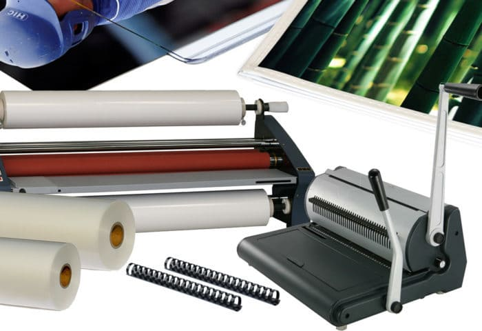 binding and laminating products